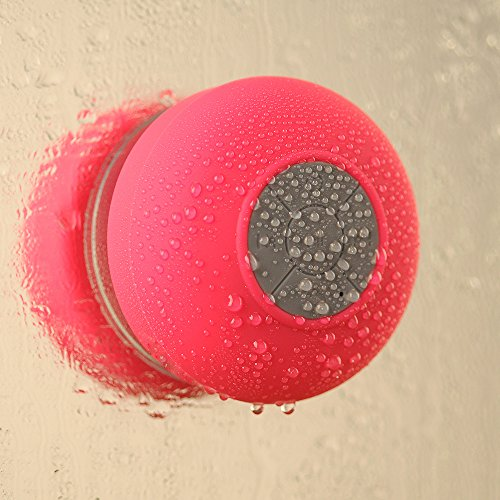 VicTsing Wireless Bluetooth Speaker, Handsfree Portable Speakerphone with Built-in Mic, Control Buttons and Dedicated Removable Suction Cup for Showers, Bathroom, Pool, Boat, Car, Beach, & Outdoor Use Compatible with Apple Iphone 6,6 Plus, 5s, 5, Galaxy масляный фильтр для мотоциклов 1 kawasaki zx750 zx 750 750 1987 1990