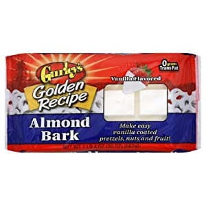 Gurley's Gurley Vanilla Almond Bark, 20-ounces (Pack of 6)