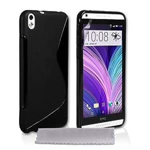 Amazon.com: Caseflex HTC Desire 816 Case Black Silicone S