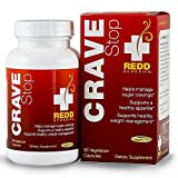 Redd Remedies Crave Stop - Helps Manage Sugar Cravings - Promotes Healthy Appetite - Supports Healthy Stress Response - 60 Vegetarian Capsules