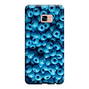 Digi Fashion Designer Back Cover with direct 3D sublimation printing for Samsung Galaxy C7