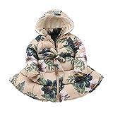 (オチェーンタ)OCHENTA 子供服女の子 冬 コート 中綿ジャケット アウター ベンチコート ピンク 冬防寒 ベージュ 104cm