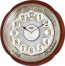 Small World (スモールワールド) 掛け時計 コンベルS 電波時計 からくり時計 4MN480RH23