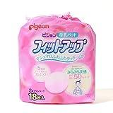 Amazon.co.jp(ピジョン)Pigeon 母乳バッド ふわふわタッチ フィットアップ 18枚入り [16083]