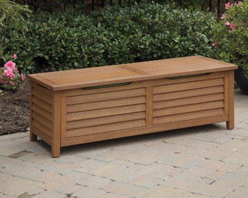 Home Styles 5661 25 Montego Bay Deck Box Eucalyptus