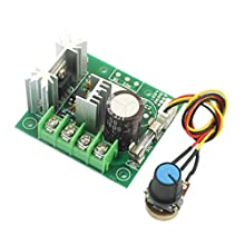 DC 5-15V 200W Rotary Potentiometer PWM Motor Speed Controller Governor