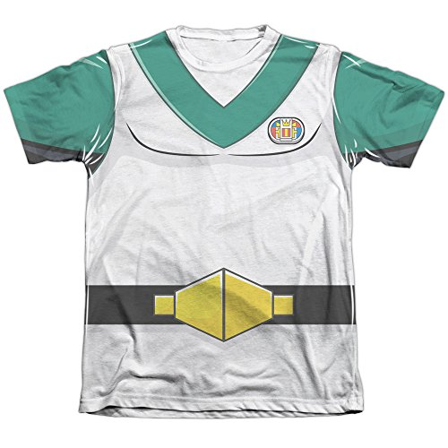 Voltron Pidge Costume Men's T-Shirt (Printed Front Back Print)