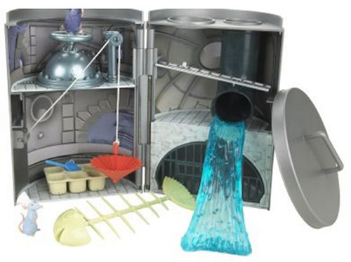 Buy Low Price Mattel Ratatouille: Sewer Splashdown Playset Figure (B000QW6TKC)