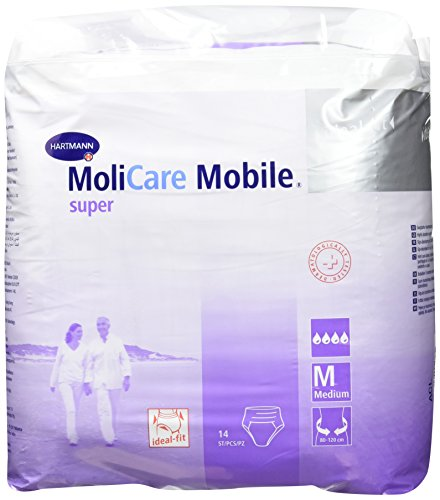HARTMANN Molicare MOBILE  IDEALE FIT MEDIO pannoloni PULL UP INCONTINENZA REF 915 872