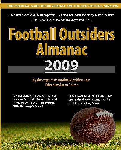Football Outsiders Almanac 2009: The Essential Guide to the 2009 NFL and College Football Seasons (Pro Football Prospectus compare prices)