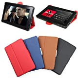 PrimeCases� Kindle Fire Red Thin Smart Case-Ultra Slim Cover For Amazon Kindle Fire (2012 UK Edition)by PrimeCases�