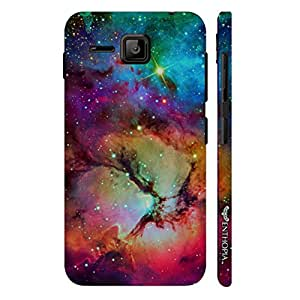 Micromax Bolt S301 The Nebula designer mobile hard shell case by Enthopia