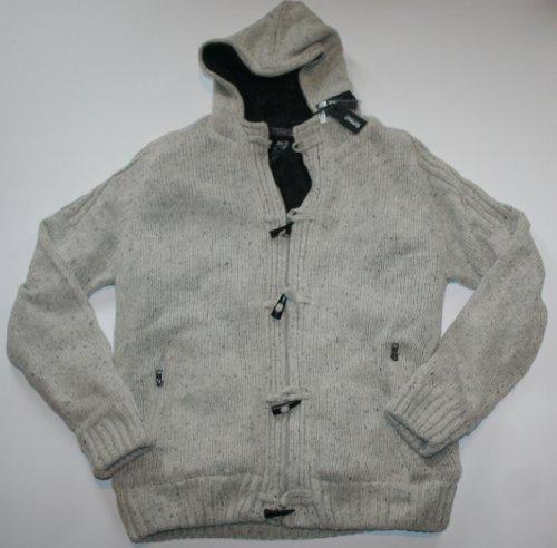 mens cardigan vest: BUFFALO David Bitton Men's Faux Fur Wally ...