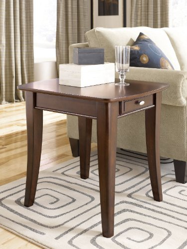 Image of The Enclave Rectangular End Table (T20790-T2079221-00)