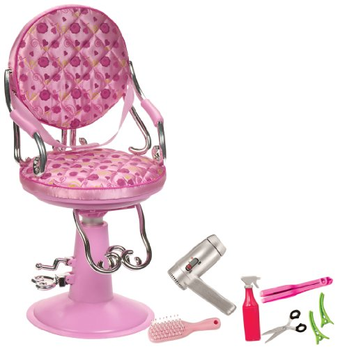 Our Generation Light Pink Salon Chair For 18 Dolls B005J2TM12 Dolls Amp