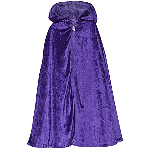 Purple Storybook Wishes Cloak, 28""