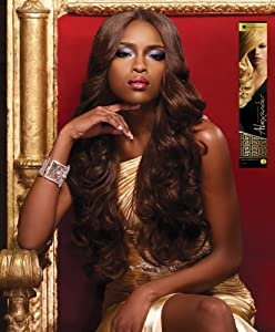 Alexander - Genuine 100% Remi Human Hair Yaki Weave (18 INCH, 27 - HONEY BLONDE)