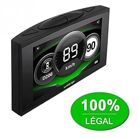 Wikango XL First GPS Auto (Ecran: 4 pouces) Noir