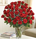 Ultimate Elegance Premium Long Stem Red Roses 48 Stem Red Roses by 1-800 Flowers