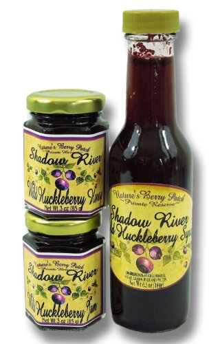 Shadow River Wild Huckleberry Gourmet Gift Set
