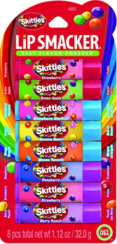 Lip Smacker Lip Balm 480 Skittles Party Pack (8 pieces per pack)