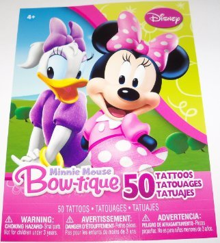 Minnie Mouse Bow-tique 50 Tattoos - 1
