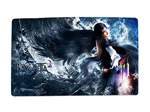 A Wide Variety Of Bayonetta Game Characters Desk & Mouse Pad Table Play Mat (Bayonetta 4)