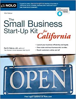 The Small Business Start-Up Kit For California
