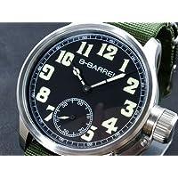 ビーバレル B-BARREL 手巻き式 腕時計 BB0046-1
