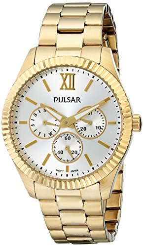 Pulsar Multifunction Stainless Steel - Gold-Tone Women's watch #PP6140