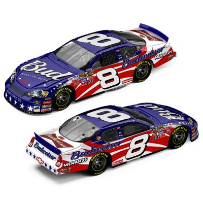 Buy Dale Earnhardt Jr. #8 Budweiser Stars & Stripes / 2007 Monte Carlo SS / 1:64 Scale Drivers Select Series Diecast Car
