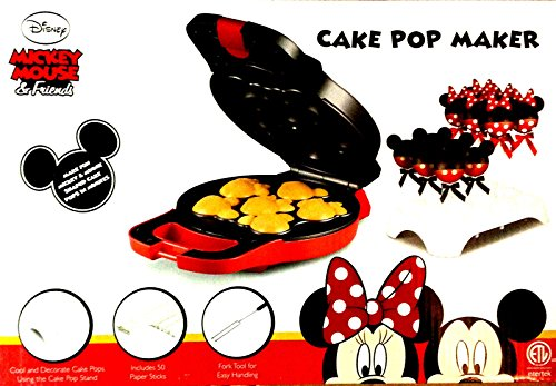 New Shop Disney Mickey Mouse & Friends Cake Pop Maker- Discounted Shipping