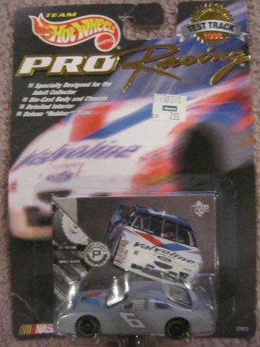 1998 - Mattel - Team Hot Wheels - Pro Racing - Test Track Edition - Mark Martin - #6 Valvoline - Upper Deck Power Plants Card - NASCAR - New - Out of Production - Rare - Limited Edition - Collectible
