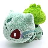 Toy - POKEMON Pl�schfigur Puppe Sammlerst�ck Beanie Bulbasaur 6 Pl�schtier