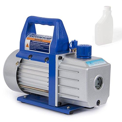 Arksen 169 Rotary Vane Deep Vacuum Pump 110v 1 3hp 4 Cfm