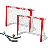 Bauer Knee Hockey Goal Set (Twin Pack), Red