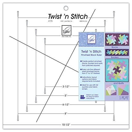 Find Cheap June Tailor Twist 'n Stitch Ruler