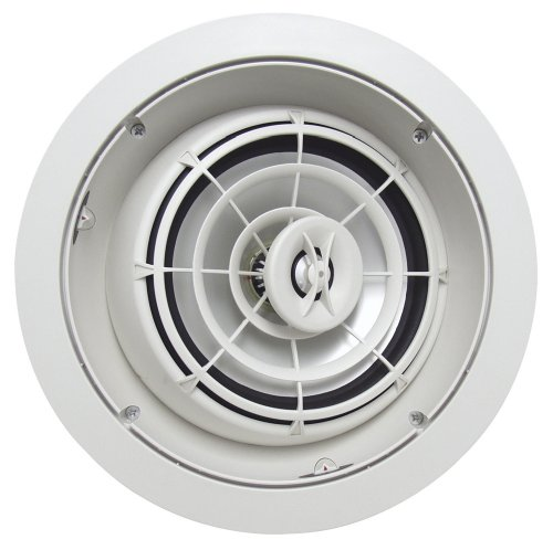 Speakercraft Aim8 Three High Fidelity Pivoting In-Ceiling Speaker - Each (White)