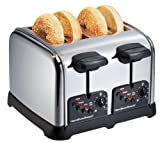 Hamilton Beach Classic Chrome 4 Slice Toaster