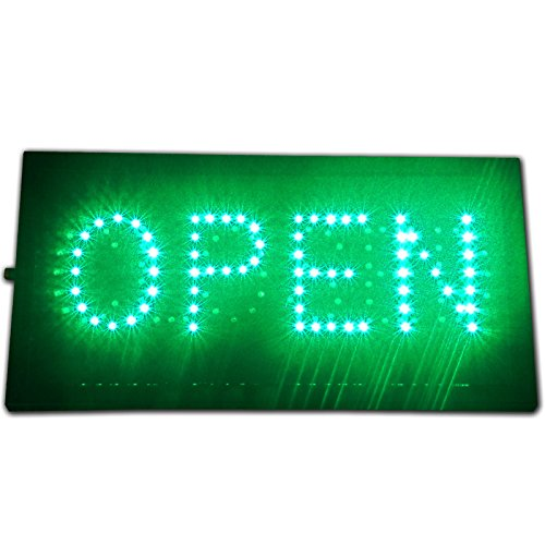 Bright Animated Open Closed 2 In 1 LED Open Sign On Off
