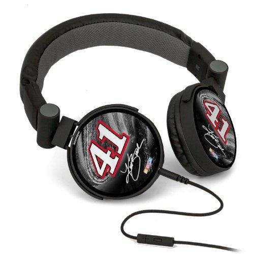 Nascar Kurt Busch 41 Haas Automation Dj Style Headphones