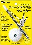 ライト(LITE) ゴルフショートゲーム用器具 フェースアングルチェッカー  G248 ランキングお取り寄せ