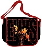 Silver Buffalo LV4301MB Elvis Presley '68 Special 15-Inch by 12-Inch Messenger Bag, Multi-Color