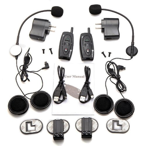 Blueboy 500M Motorcycle Wireless Headphone Intercom- Motorcycle Helmet Bluetooth Headset- Motorcycle Parts