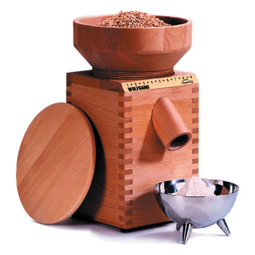 samap manual stone grain mill