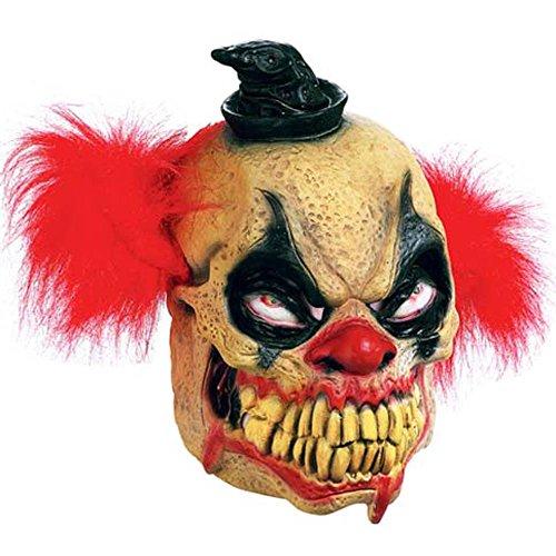 Paper Magic Men's Don Post Studios Bludie The Clown Mask, Multi-Colored, One Size