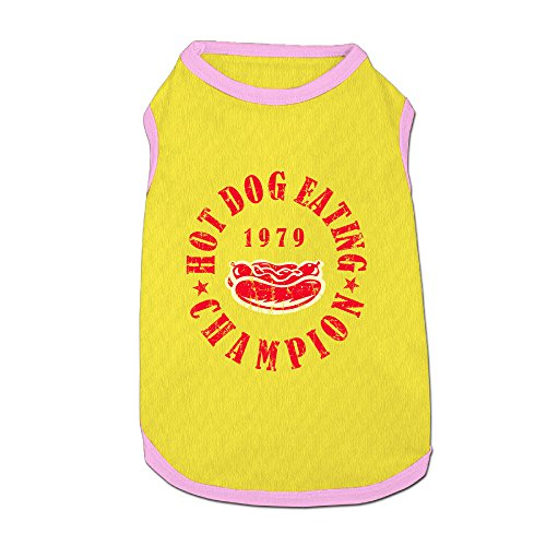 Hot Dog Eating Champion Dog-coats Pet Supplies Dog Shirt For Dog (Compression Juicer compare prices)