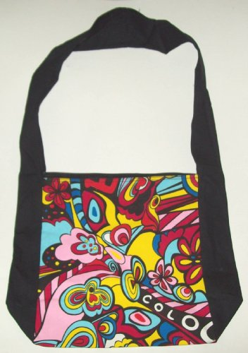 Psychedelic Messenger Bag or Mini Tote Bag - 1