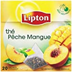 Lipton Th� parfum� peche mangue 20 sa...