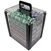 Trademark 1000 Chip Capacity Clear Carrier Chip (Clear) Reviews